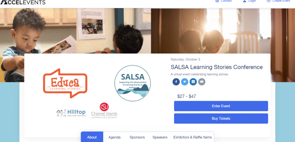 SALSA Hosts 2nd National Learning Stories Conference Virtually
